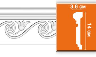 Молдинг с орнаментом E070