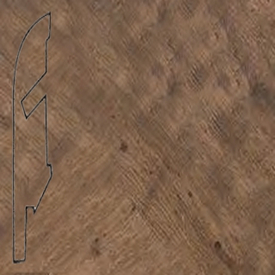 Плинтус Версаль светлый 1155