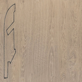 Плинтус доска белого винтажного дуба 1285