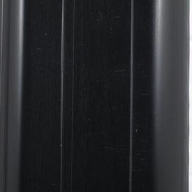 Плинтус пластиковый с кабель-каналом Черный 007