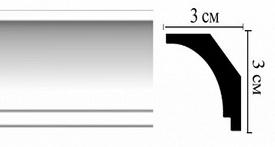 Плинтус потолочный DM16