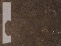 Плинтус Известняк табак 70642