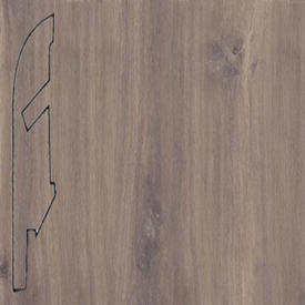 Плинтус доска дуба полуночного темная 1488 (058)