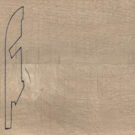 Плинтус Пиленый светлый дуб 1547