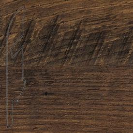 Плинтус Реставрированный темный каштан 1542