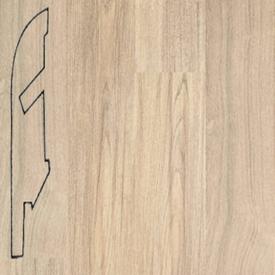 Плинтус Тик серый затертый 1163