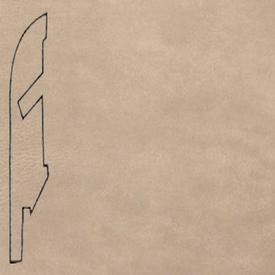 Плинтус Плитка кожанная светлая 1401