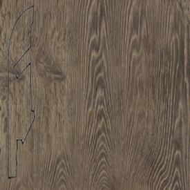 Плинтус доска серого винтажного дуба 1286