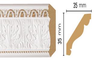 Потолочный плинтус (карниз) T115005