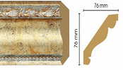 Потолочный плинтус (карниз) T553001