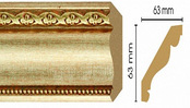 Потолочный плинтус (карниз) T933002
