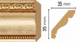 Потолочный плинтус (карниз) T933004