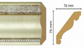 Потолочный плинтус (карниз) T937001