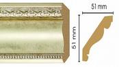 Потолочный плинтус (карниз) T937003