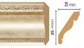 Потолочный плинтус (карниз) T937004