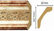 Потолочный плинтус (карниз) T127002
