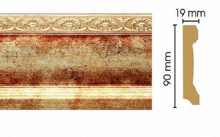 Плинтус напольный T127015