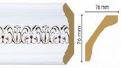 Потолочный плинтус (карниз) T118001