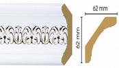 Потолочный плинтус (карниз) T118002