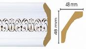 Потолочный плинтус (карниз) T118003