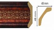 Потолочный плинтус (карниз) T767003