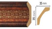 Потолочный плинтус (карниз) T767004