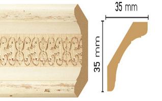 Потолочный плинтус (карниз) T1028004