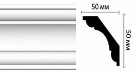 Плинтус потолочный DM18