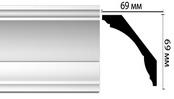 Плинтус потолочный DM20