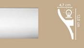 Потолочный профиль AR09