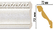 Цветной карниз T42001