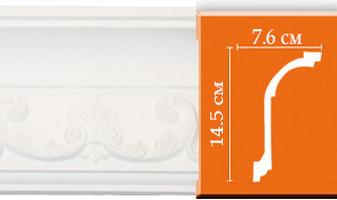 Плинтус потолочный с рисунком A107