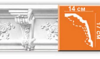 Плинтус потолочный с рисунком A115