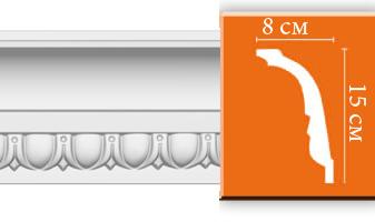 Плинтус потолочный с рисунком A122