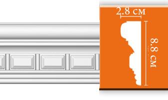 Молдинг с орнаментом E059
