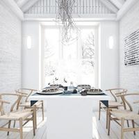 Стеновые панели белые