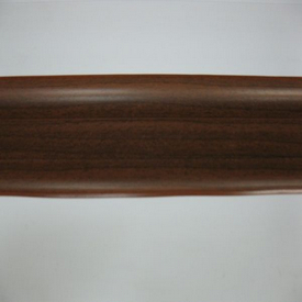 Плинтус пластиковый с кабель-каналом Орех Темный 293