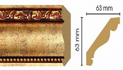 Потолочный плинтус (карниз) T552002