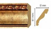 Потолочный плинтус (карниз) T552003