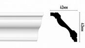 Плинтус потолочный DM03